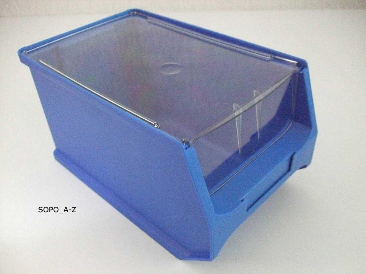 deckel f r sichtlagerboxen gr 4 gr 5 abdeckung stapelboxen. Black Bedroom Furniture Sets. Home Design Ideas