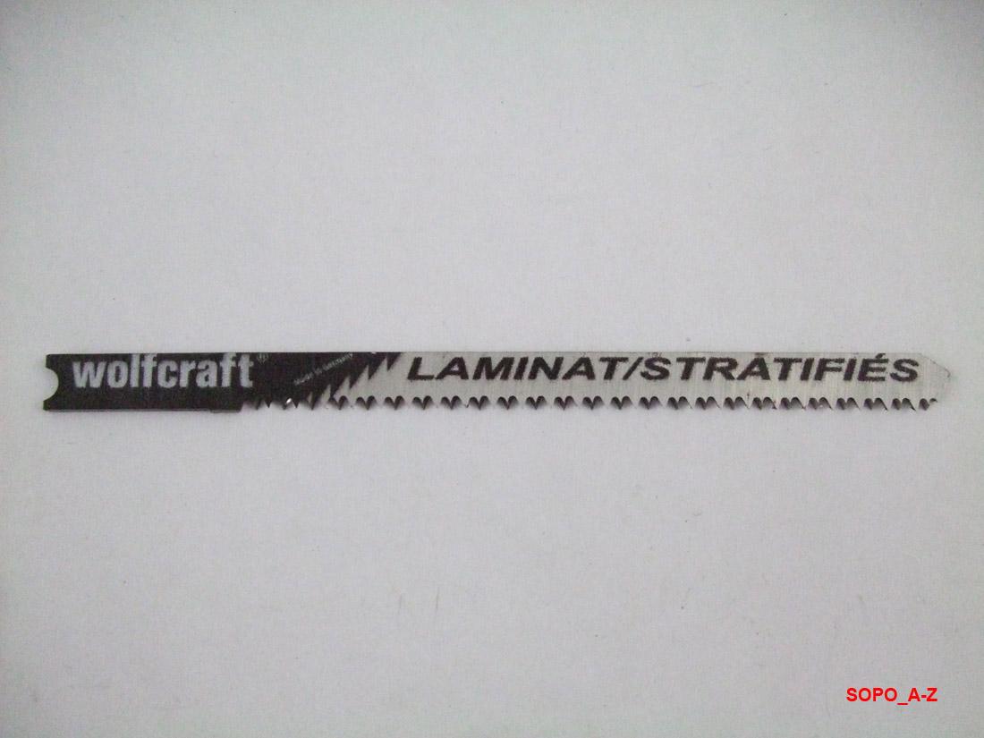 Stichsägeblätter U Schaft HCS Laminat Parkett kwb Stichsäge 15 Stück